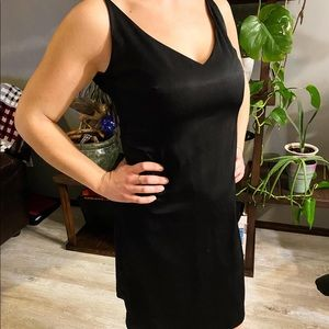 (3/$25) Esprit Black Strappy Dress Size 7